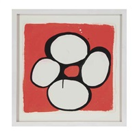 untitled (+ a companion painting; 2 works) by judy ledgerwood
