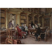the bibliophiles by tito lessi