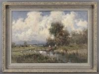 river landscape by ivan karpov