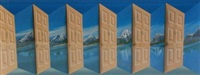 grand tetons by patrick hughes