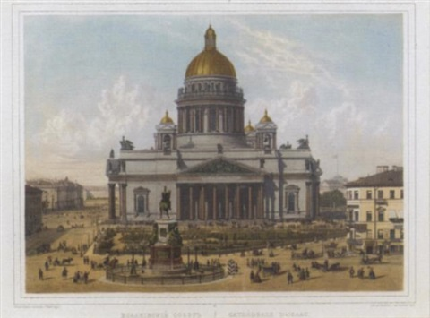 views of st petersburg by jacottet regamey