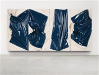 dk. blu yank shifter (in 4 parts) by steven parrino