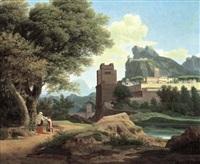 a classical landscape by pierre péquignot