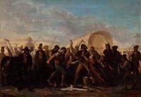 pelea de navajas by angel (monedero) lizcano y esteban