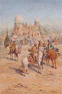 horsemen by georgy gabashvili
