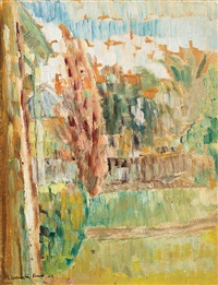 evening by grace cossington smith