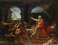 joseph reconnu par ses frères by charles toussaint labadye