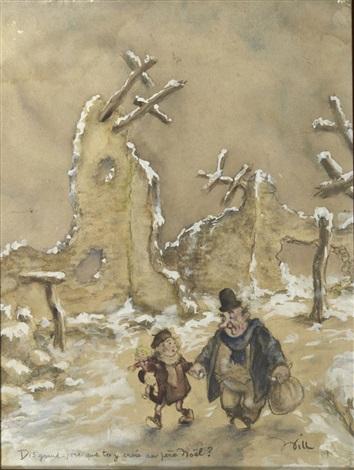 Grand Pere Noel Dis Grand Père que tu y crois au Père Noel by Frank Will on artnet