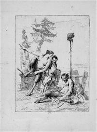 il satiro allegro con la famiglia by giovanni battista tiepolo