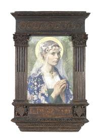 beate maria by gari melchers