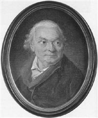 portrait d'homme en buste à la veste verte by nicolas benjamin delapierre