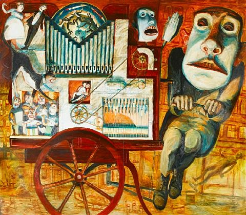 the barrel organ player by keith mcintyre