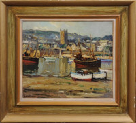 low tide st ives by leonard richmond