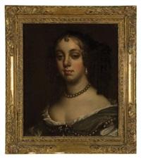portrait of catherine of braganza by antoine pierre mongin