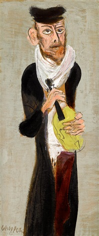 the musician by william gropper