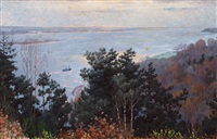 view over the elbe by walter voltmer