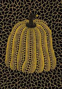 pumpkin かぼちゃ by yayoi kusama