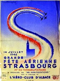 grande fête aérienne, strasbourg by paul lengelle