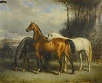 trois chevaux by françois emile de lansac