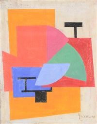 abstract composition by paul mansouroff
