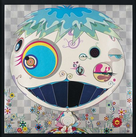jelly fish by takashi murakami
