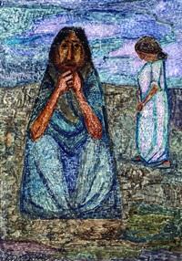 lavanderas - dos mujeres (pair) by leonidas gambartes