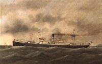 naivre mixte st-roche de la compagnie navale commerciale de l'oceanie (n.c.o.) by victor charles edouard adam