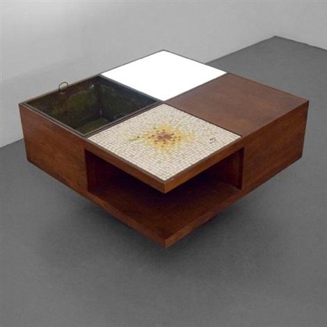Lighted Coffee Table, Model #440 By Vladimir Kagan