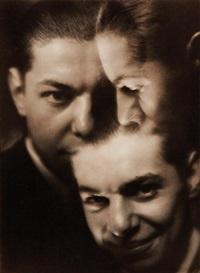 triple portrait by paul koruna