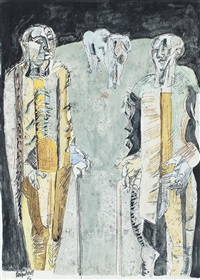 the shepherds by robert colquhoun
