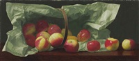 apples in a basket by william j. mccloskey