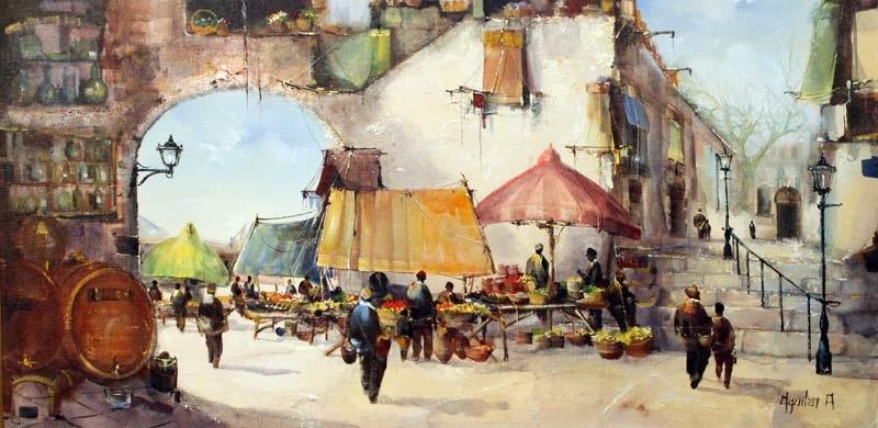 sunday market by jorge aguilar agon