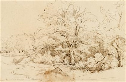 gorges dapremont by théodore claude félix caruelle d aligny