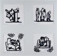 nueva vision (4 works) by líbero badii