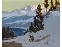 convict lake by elmer wachtel
