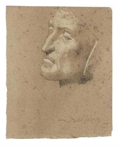sélection premium meilleure qualité pour vente en ligne Le masque de Dante by Michel Martin Drolling on artnet