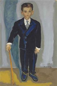portrait de h.r. by mané-katz