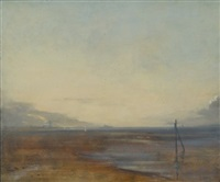 evening sandymount strand by david hone