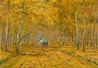 cesta podzimním lesem by arnost smetana