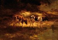 two cows by fedor van kregten