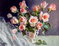 bodegón de rosas by pedro batalla xatruch