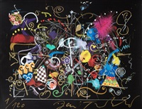 composition avec plume by jean tinguely
