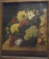 bouquet de fleurs by edmond sanzel