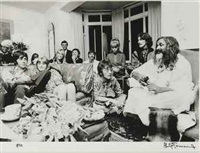 the beatles with maharishi mahesh yogi by phillip townsend