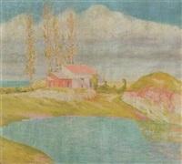 paisaje by agustín ezcurra