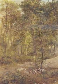 bassett hounds by g. fanvol
