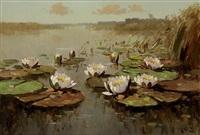 waterlelies by h. endlich