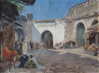 mercado de marruecos, tanger by enrique simonet lombardo