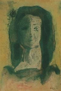 noi fej (female head) by dezsö korniss