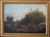 la rentrée du troupeau by saintin françois jozan